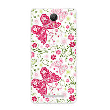 Cases For Xiaomi Redmi Note 2 Soft TPU Silicone Protective Back Covers Butterfly