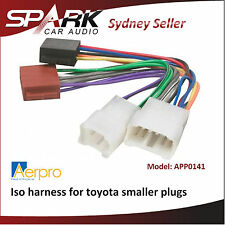 ADRO Iso harness for late Toyota models with smaller 2-plug type non SWC APP0141