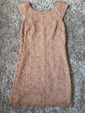 Vestido de Encaje Oasis Damas Fiesta Talla 8 UK