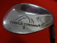 TIGER SHARK Triple Crown II Lob Wedge RH Factory Wedge Flex Steel Shaft