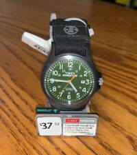 Timex TW4B00100 Men's Expedition Acadia Black Green Dial Watch 24 Hour