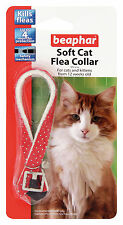 Beaphar Chat Puces Souple Collier Rouge Brillant - Valentina Valentti GB