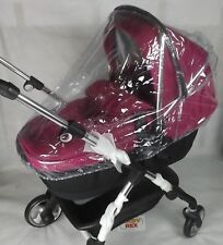 2 IN 1 PVC RAINCOVER FITS BUGABOO DONKEY CARRYCOT & PUSHCHAIR