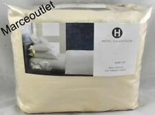 Hotel Collection 525 Thread Count 100% Cotton QUEEN Sheet Set Ivory