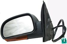 Door Mirror Trailblazer Envoy Ascender Chevy GMC Left Driver Side 15136308