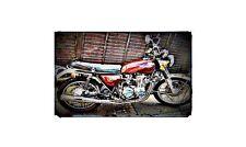1974 honda cb550 Bike Motorcycle A4 Photo Poster
