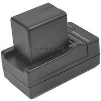 Charger +3900mAh Battery For Panasonic VW-BC10E VW-VBT380 HC-V750 HC-VX980 V770