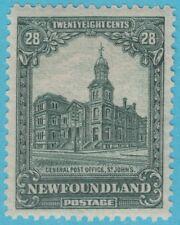 CANADA NEWFOUNDLAND 158  MINT  HINGED OG  *  NO FAULTS EXTRA FINE !