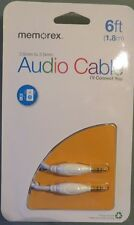 Memorex 6ft, 3.5mm to 3.5mm Audio Cable (B1)