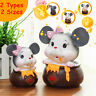 Mouse Shaped Money Coins Piggy Bank Cash Saver Money Collectible Box Kids Gift