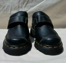 Dr. Martens Black Ankle Strap Buckle Shoes Boots Sz 3 U.S Made in England 9380