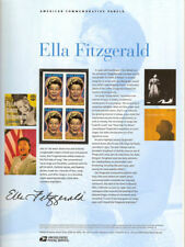 #782 39c Ella Fitzgerald Singer #4120 USPS Commemorative Stamp Panel