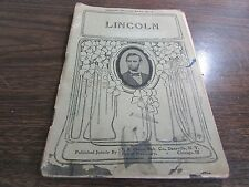 LINCOLN - INSTRUCTOR LITERATURE SERIES #5 - 1906