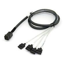 LSI Kabel SFF8643-SATASB miniSASHD-SAS zu SATA 0.8m