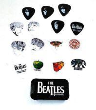 Beatles Guitar Picks Signature Series Logo Planet Waves Pick Tin 15 Picks