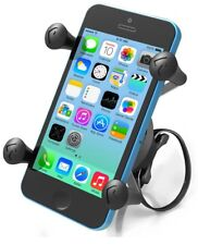 Ram Ez-On/Off Bike Mount with Universal X-Grip Cradle for Cell Phone, Mp3 Player