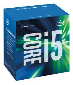 Intel Core i5-6600K 3.5GHz Skylake CPU LGA1151 Desktop Cache Boxed
