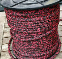 8mm Double Braided paracord. High quality polypropylene lead rope. 25 Meters