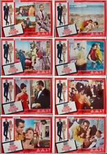 DR. NO JAMES BOND Italian fotobusta movie posters x8 red style R71 SEAN CONNERY