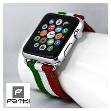 "Nylon Armband "" ITALY "" für Apple Watch ( 42mm ) Serie 1 / 2 / 3 - Italia"