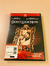 Psychic Thriller 'Don't Look Now' DVD Sealed New OOP Donald Sutherland