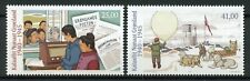 More details for greenland 2019 mnh greenland during wwii ww2 pt iv 2v set dogs military stamps