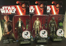 """Star Wars-The Force Awakens 3.75"""" Bundle: Han Solo,Ray, Hassk Thug*STOCK IN HAND"""