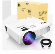 DR. J Professional 3800L Full HD Home Theater Portable Mini Projector 1280x720