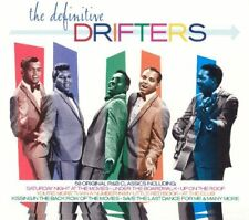 THE DRIFTERS ( NEW SEALED 2 CD SET ) THE DEFINITIVE GREATEST HITS / VERY BEST OF