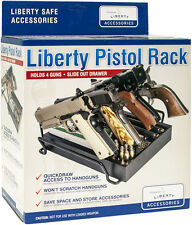 Liberty Safe Pistol Rack with Drawer- Perfect for Safes or Vault Rooms