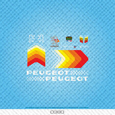 Peugeot Bicycle Decals - Transfers - Stickers - Set 380