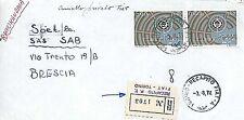 Cars Postal History Italian Stamps