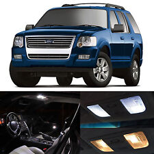 15x White SMD LED Lights Interior Package Kit for 2000-2010 Ford Explorer