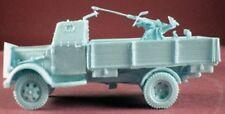 Milicast BG143 1/76 Resin German Armored OpelBlitz GS Body w Quad 20mm AA