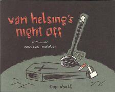 Van Helsing'S Night Off Nicolas Mahler Top Shelf Sc Gn Tpb Edward Gorey Type New