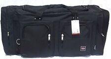 31 INCH BLACK TRAVEL, GYM, TOTE, GEAR BAG