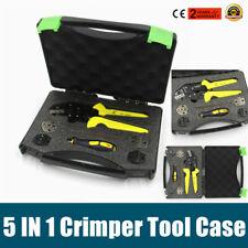 Set Wire Crimper 5 In 1 Wire Crimper Terminals Kit Jx 1601 Wire Crimper Plier