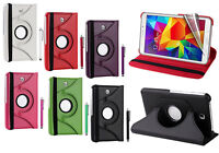 New 360 Leather Tablet Smart Stand Case Cover for Samsung Galaxy Tab 4 T230 7""