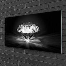 Glasbilder Wandbild Druck auf Glas 120x60 Diamanten Kunst