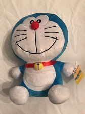 """Doraemon Plush Stuffed Cat Anime Fujiko-Pro Smile Face 30cm/12"""""""