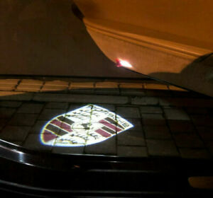 2PCS Car door projector Logo Ghost Shadow Welcome Light PANAMERA CAYMAN 997 911