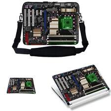 "17"" 17.3"" Laptop Sleeve Bag Case w Shoulder Strap & Matching Skin Mouse Pad 2906"