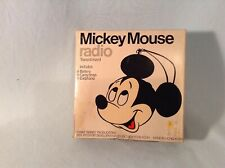 Mickey Mouse Radio Model. 179 With Box