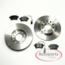 Audi A8 4E2 4 E8 - Discos de Freno Pastillas para Traseras la Eje