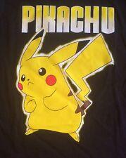 Pokémon Pikachu Kids T-shirt Black 14/16 XL. Free US Shipping