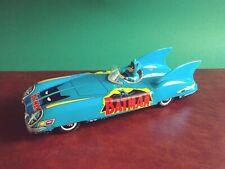 Scarce Aoshin ASC Japan Tin Friction Batmobile Batman