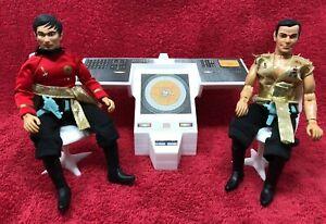 Star Trek TOS Bridge Navigator & Helmsman Console-Mego-Blemish-(NO CHAIRS)