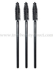 3 x BLACK MASCARA BRUSHES WANDS DISPOSABLE SUITABLE FOR MAKE UP BAG TRAVEL NEW
