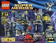 RETIRED Lego 6860 THE BATCAVE DC Comics SUPER HEROES Batman 100% Complete w Box