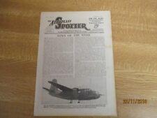 March 1944, AEROPLANE SPOTTER, Consolidated PB4Y-2 Liberator, Grumman Hellcat I.